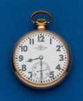 Timepieces:Pocket (post 1900), Ball 16 Size 21 Jewel Official Standard, B611383. ...