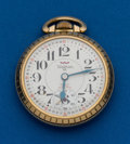 Timepieces:Pocket (post 1900), Waltham (Swiss) 25 Jewel 16 Size. ...
