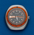 Timepieces:Wristwatch, LeCoultre HPG Automatic Steel Master Mariner Deep Sea. ...