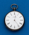 Timepieces:Pocket (post 1900), Swiss, 14 Size, Silver Key Wind. ...