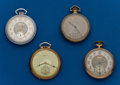 Timepieces:Pocket (post 1900), Four - 12 Size, Pocket Watches. ... (Total: 4 Items)