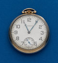 Timepieces:Pocket (post 1900), South Bend, 12 Size, 21 Jewel, Studebaker. ...