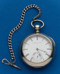 Timepieces:Pocket (pre 1900) , E. Howard, Series III, Key Wind, Parts Watch, Serial No. 24752. ...