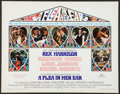 """Movie Posters:Miscellaneous, Rex Harrison Lot (Various, 1967-1968). Half Sheet (22"""" X 28"""") & Insert (14"""" X 36""""). Comedy.. ... (Total: 2 Items)"""