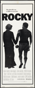 "Movie Posters:Academy Award Winners, Rocky (United Artists, 1977). Insert (14"" X 36""). Academy AwardWinners.. ..."
