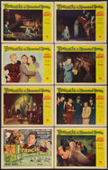 """Movie Posters:Comedy, Francis in the Haunted House (Universal International, 1956). Lobby Card Set of 8 (11"""" X 14""""). Comedy.. ... (Total: 8 Items)"""