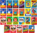 Baseball Collectibles:Others, 1970's - 1980's Hockey, Baseball and Basketball Wax Pack Collection(23). ...