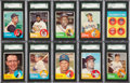 Baseball Cards:Sets, 1963 Topps Baseball Complete Set (576)....
