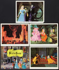 "Movie Posters:Animated, Sleeping Beauty (Buena Vista, 1959). International Title Lobby Cardand Lobby Cards (4) (11"" X 14""). Animated.. ... (Total: 5 Items)"
