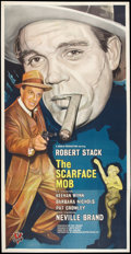 "Movie Posters:Crime, The Scarface Mob (Desilu, 1962). Three Sheet (41"" X 81""). Crime....."
