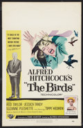 "Movie Posters:Hitchcock, The Birds (Universal, 1963). Window Card (14"" X 22""). Hitchcock.. ..."