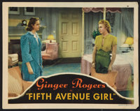 "Fifth Avenue Girl (RKO, 1939). Lobby Card (11"" X 14""). Comedy"