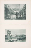 Books:Non-fiction, Lot of 15 Photogravures Featuring Scenes of Early California. 15.5x 12 inches (landscape). All plates are very good or bett...(Total: 15 Items)