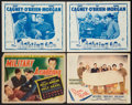 """Movie Posters:War, War Lot (Various, 1940-1948). Title Lobby Card, Lobby Cards (3)(11' X 14') and Press Book (Multiple Pages) (12' X 14""""). War...(Total: 5 Items)"""