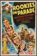 "Movie Posters:Musical, Rookies on Parade (Republic, 1941). One Sheet (27"" X 41""). Musical.. ..."