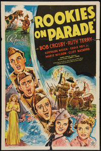 """Rookies on Parade (Republic, 1941). One Sheet (27"""" X 41""""). Musical"""