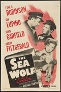 "Movie Posters:Adventure, The Sea Wolf (Warner Brothers, R-1947). One Sheet (27"" X 41"").Adventure.. ..."