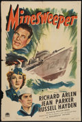 "Movie Posters:War, Minesweeper (Paramount, 1943). One Sheet (27"" X 41"") Style A. War....."
