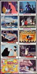 "Movie Posters:Animated, Disney Lot (Buena Vista, R-1970s). Title Lobby Card and Lobby Cards (9) (11"" X 14""). Animated.. ... (Total: 10 Items)"
