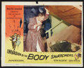 "Movie Posters:Science Fiction, Invasion of the Body Snatchers Lot (Allied Artists, 1956). Lobby Card (11"" X 14"") and One Sheet (27"" X 41""). Science Fiction... (Total: 2 Items)"