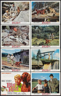 "Movie Posters:Adventure, Disney Live-Action Lot (Buena Vista, 1960s-1970s). Lobby Card Setsof 8 (2) & Lobby Card Set of 9 (11"" X 14""). Adventure.. ...(Total: 25 Items)"