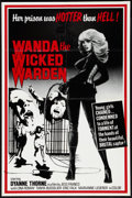 "Movie Posters:Sexploitation, Wanda the Wicked Warden (Bernie Jacon, 1979). One Sheet (26"" X40""). Sexploitation.. ..."