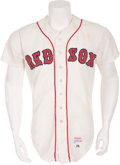 Baseball Collectibles:Uniforms, 1982 Wade Boggs Game Worn Rookie Boston Red Sox Jersey....
