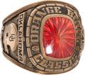 Football Collectibles:Others, 1979 Oklahoma Orange Bowl Ring....