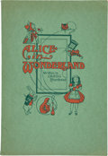 Books:Children's Books, Lewis Carroll. Alice in Wonderland. Printed in GreggShorthand. New York: The Gregg Publishing Company, [n.d., 1...