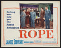 """Movie Posters:Hitchcock, Rope (Warner Brothers, 1948). Lobby Card (11"""" X 14""""). Hitchcock.. ..."""