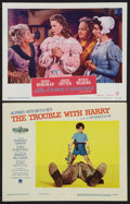 """Movie Posters:Hitchcock, The Trouble With Harry Lot (Paramount, 1955). Lobby Cards (2) (11"""" X 14""""). Hitchcock.. ... (Total: 2 Items)"""