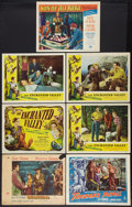 "Movie Posters:Adventure, Adventure Lot (Various, 1947-1952). Title Lobby Card and LobbyCards (6) (11"" X 14""). Adventure.. ... (Total: 7 Items)"