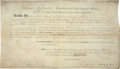 "Autographs:U.S. Presidents, Thomas Jefferson Land Deed Signed ""Th: Jefferson"" aspresident and countersigned by James Madison as secretary ofstate...."