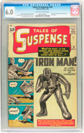Silver Age (1956-1969):Superhero, Tales of Suspense #39 (Marvel, 1963) CGC FN 6.0 Off-white to whitepages....