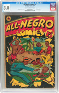 Golden Age (1938-1955):Humor, All-Negro Comics #1 (All-Negro Comics, 1947) CGC GD/VG 3.0 Cream to off-white pages....