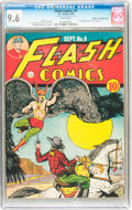 Golden Age (1938-1955):Superhero, Flash Comics #9 Mile High pedigree (DC, 1940) CGC NM+ 9.6 White pages....