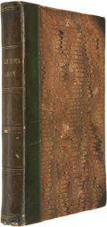 Books:First Editions, Harriet Beecher Stowe. Uncle Tom's Cabin. With Twenty-sevenIllustrations on Wood by George Cruikshank, Esq. Lon...