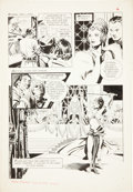Original Comic Art:Panel Pages, Al Williamson Flash Gordon #1 page 6 Original Art (King, 1966)....