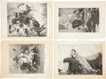 Antiques:Posters & Prints, Fifty Illustrations Depicting Scenes From Classic Literature.Featuring vignettes from some of the greatest works of literat...