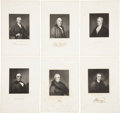 Antiques:Posters & Prints, Twelve Steel Engravings of Distinguished Americans From theNational Portrait Gallery. From The National Portrait Gallery... (Total: 12 Original Art Items)