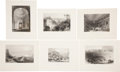 Antiques:Posters & Prints, Six 19th Century Engravings Depicting Miscellaneous Scenes ofItaly. 11 inches x 8.5 inches. Extracted from Fisher's D...(Total: 6 Items)