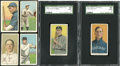 Baseball Cards:Lots, 1909-11 T206 Tolstoi & Sweet Caporal White Borders Group of (6). ...