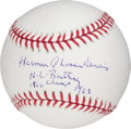 Autographs:Baseballs, Tommy Davis Full Name Inscription Single Signed Baseball....