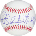 Autographs:Baseballs, Ron Blomberg Inscription Single Signed Baseball...