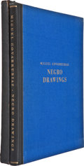 Books:Signed Editions, Miguel Covarrubias. Negro Drawings. New York: Alfred A.Knopf, 1927.. Edition limited to 100 copies, of which ...