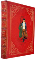 Books, [Charles Dickens]. Mr. Pickwick. Illustrated in Colour byFrank Reynolds, R.I. London: Hodder & Stoughton, [n.d....