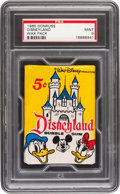 Non-Sport Cards:Unopened Packs/Display Boxes, 1965 Donruss Disneyland Unopened Wax Pack Mint 9....