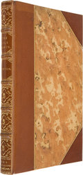 "Books:First Editions, Richard F. Burton. The Nile Basin. London: Tinsley Brothers,1864. First edition. Lacking all maps. Contains: ""Showi..."