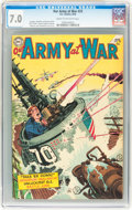 Golden Age (1938-1955):War, Our Army at War #25 (DC, 1954) CGC FN/VF 7.0 Cream to off-white pages....