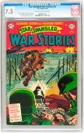 Golden Age (1938-1955):War, Star Spangled War Stories #22 (DC, 1954) CGC VF- 7.5 Cream tooff-white pages....